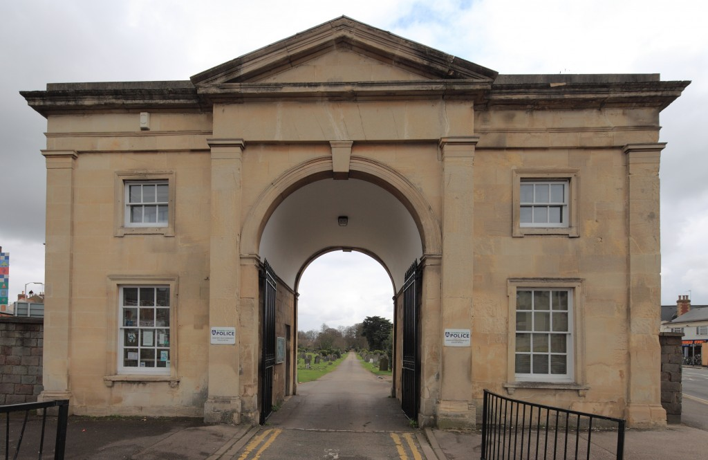 Cemetery Junction Entrance Archway