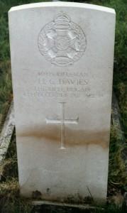 Davies HC grave