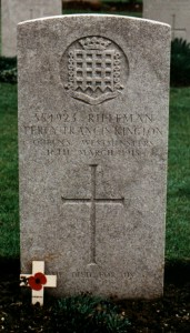 Kington PF grave
