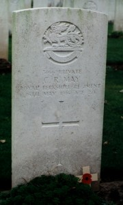 May CR grave