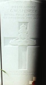 Spencer GW grave