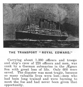 Weeks J Royal Edward ship